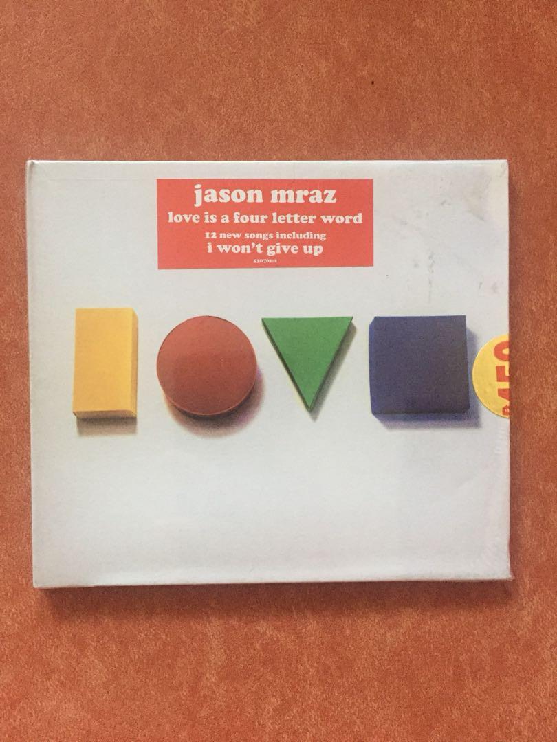 Jason Mraz Love Is A Four Letter Word Music Media Cds Dvds