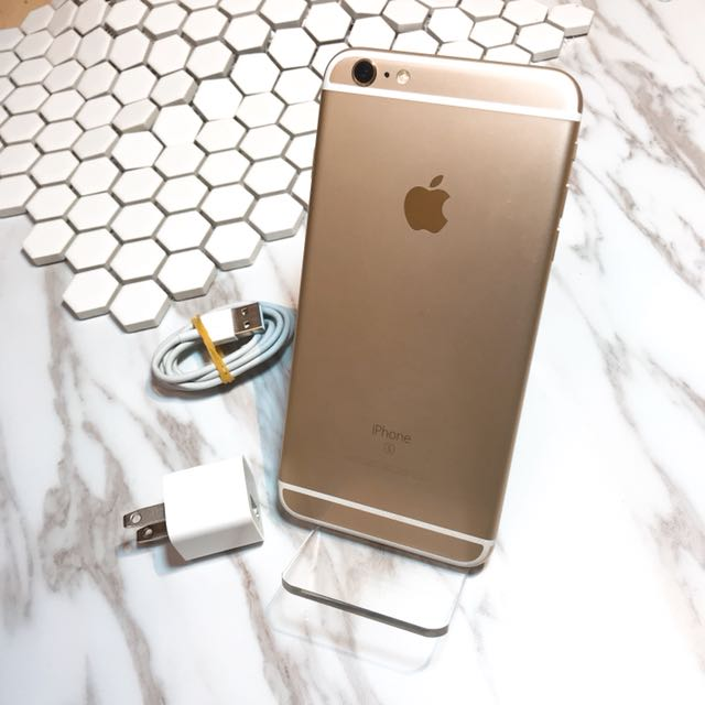 Kaohsiung iPhone 6s Plus 64GB gold no box with charge