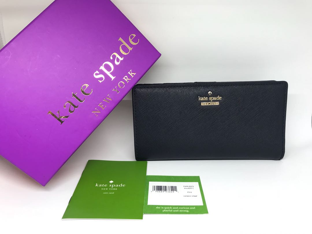Katespade stacy wallet authentic