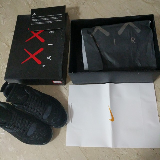 new arrival 52e1d 964fa Kaws x Black jordan 4 nike air