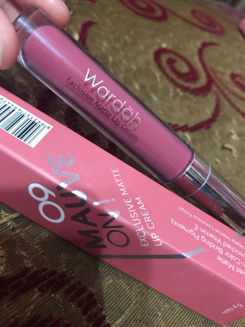 Wardah Exclusive Matte Lip Cream No 09 Daftar Harga Terlengkap 17 Source Photo
