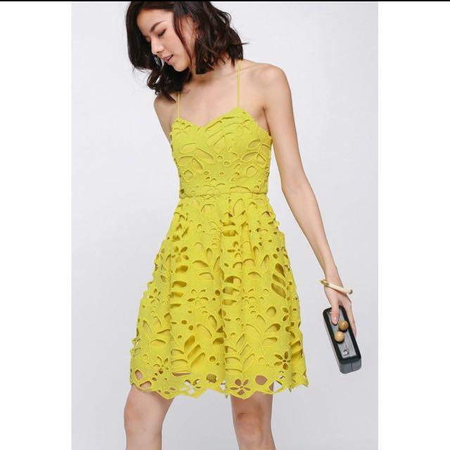 Love Bonito Larynx Lace Dress