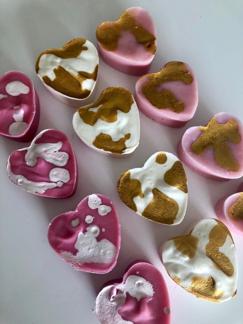 Love heart soap guest and party favours, bomboniere