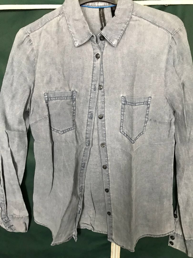 Mango chambray shirt