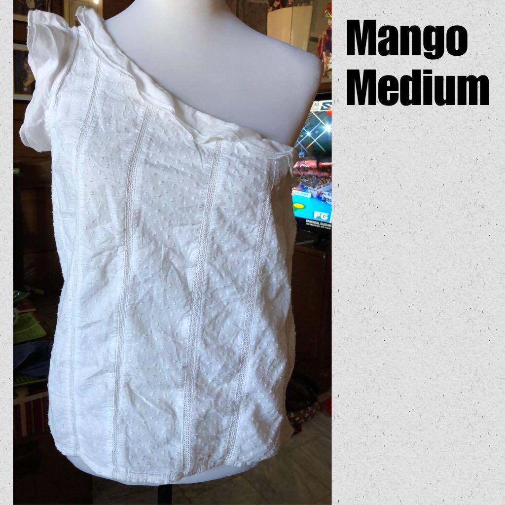 Mango Venus-Cut Top