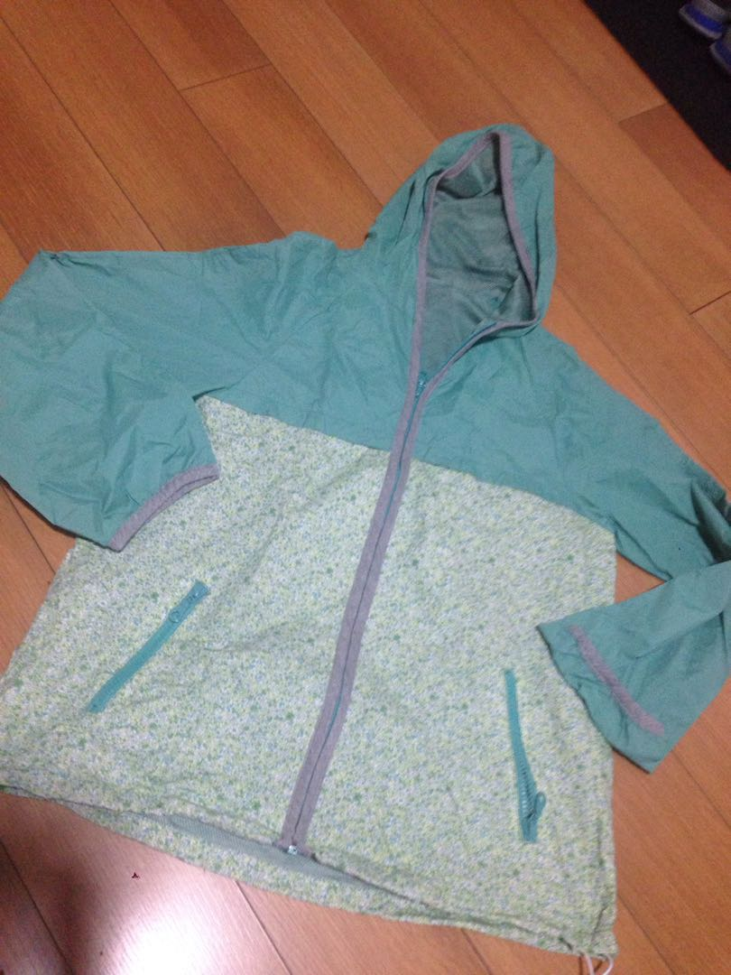 Marie Claire sweet green windbreaker