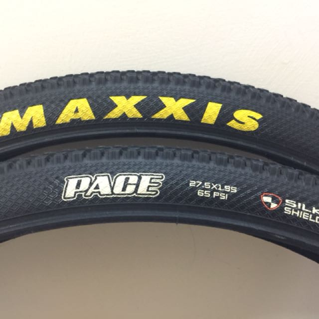 maxxis pace 27.5 almost new