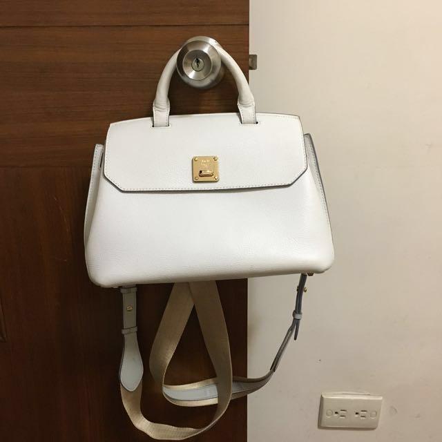 MCM Milla Backpack 後背包 白色