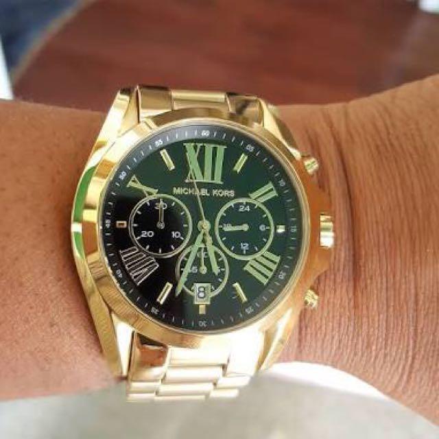 Michael Kors Ladies' Bradshaw Chronograph Watch MK5739