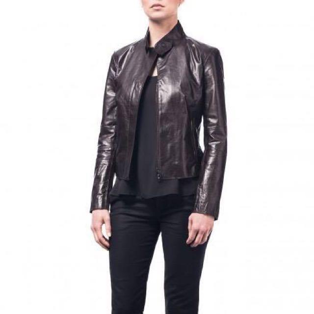 MO851 leather jacket