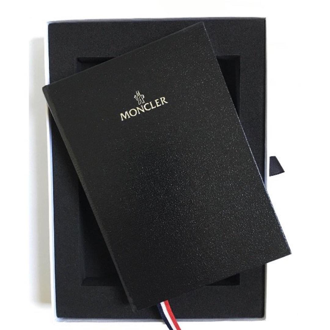 Moncler 燙銀 筆記本 全空白 全新未使用