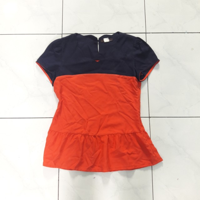 Mosco Two Tone Top