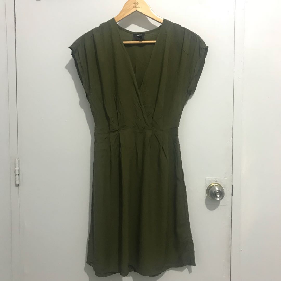 Mossimo Army Green Dress