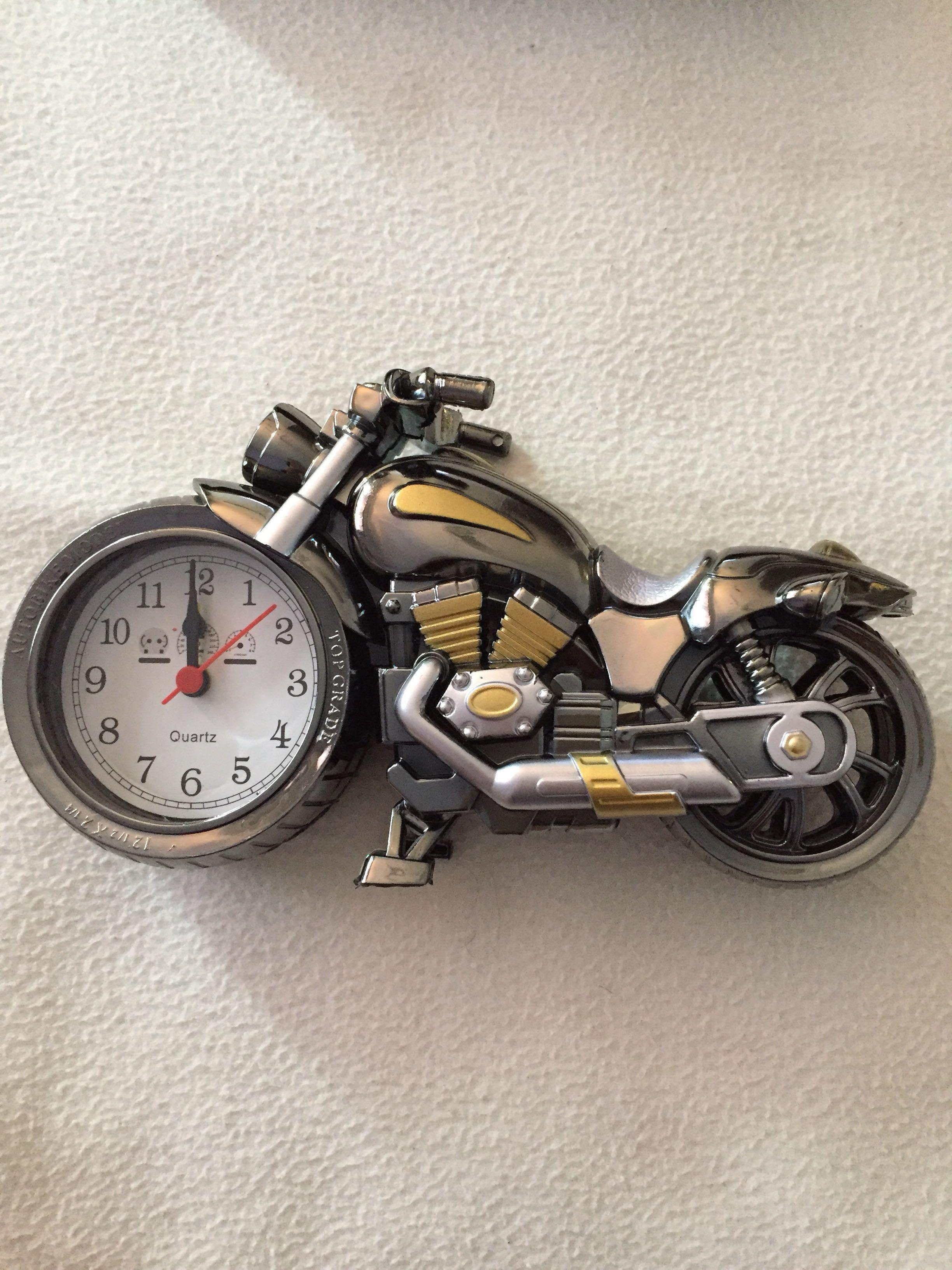 NEW Alarm Clock Autobike Model
