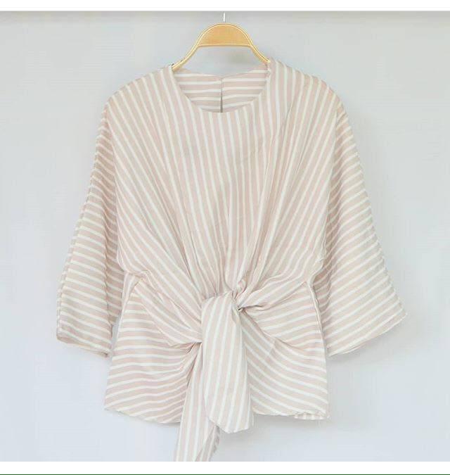 NEW RENITA STRIPE BLOUSE