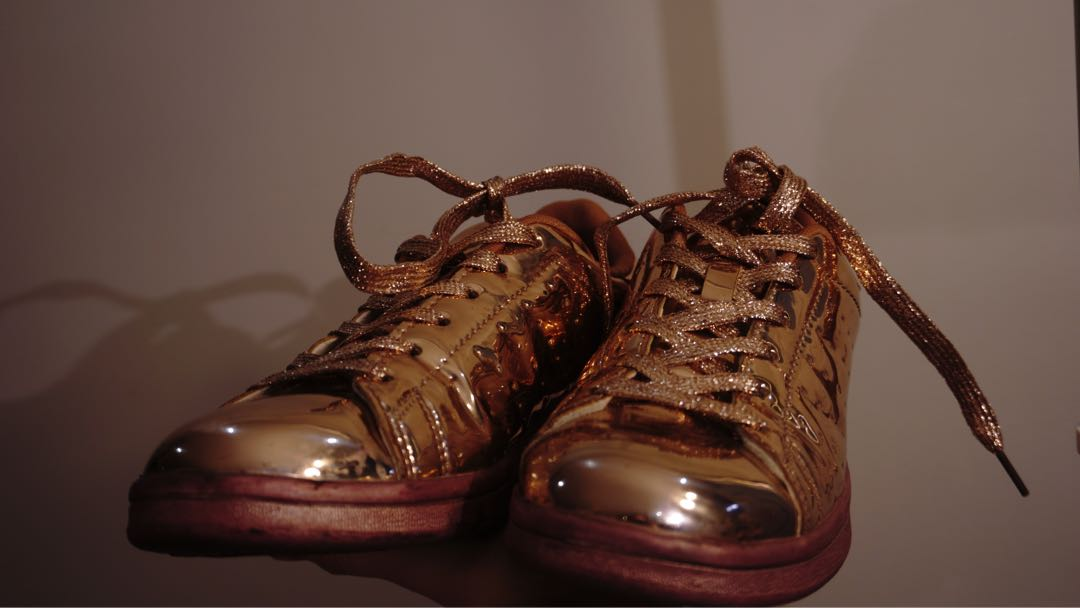 NEW ROSE GOLD SNEAKERS