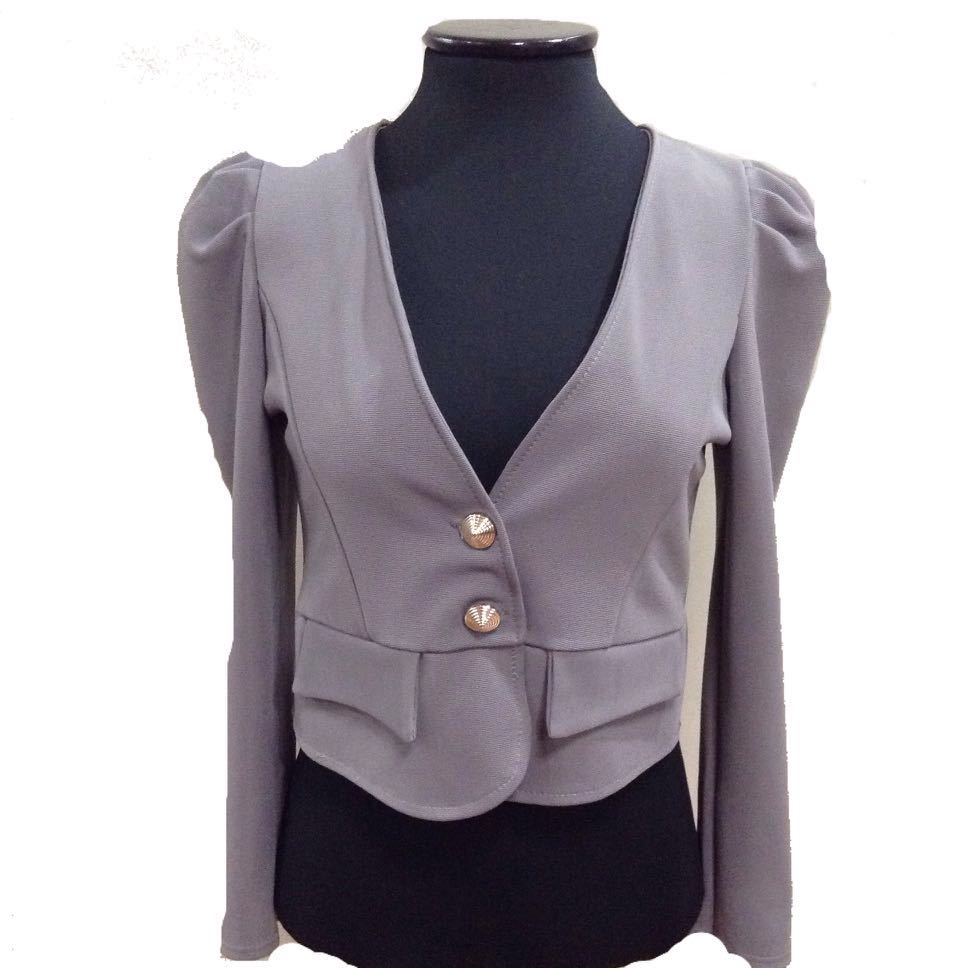 New:Korean gray blazer