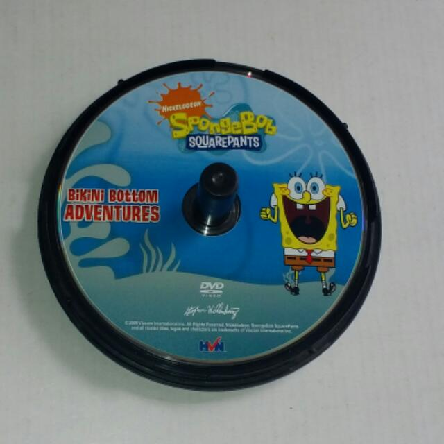 Nickelodeon SpongeBob Squarepants Bikini Bottom Adventures DVD