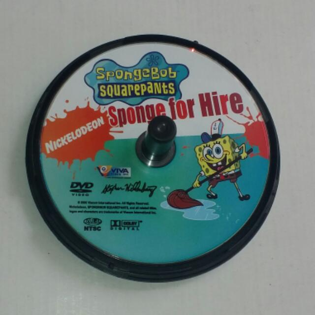 Nickelodeon SpongeBob Squarepants Sponge For Hire DVD