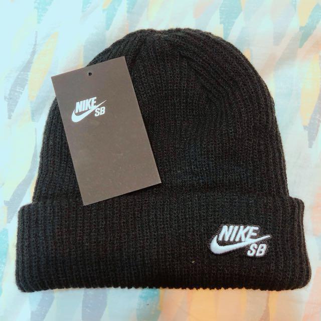 Nike SB 針織運動毛帽 黑