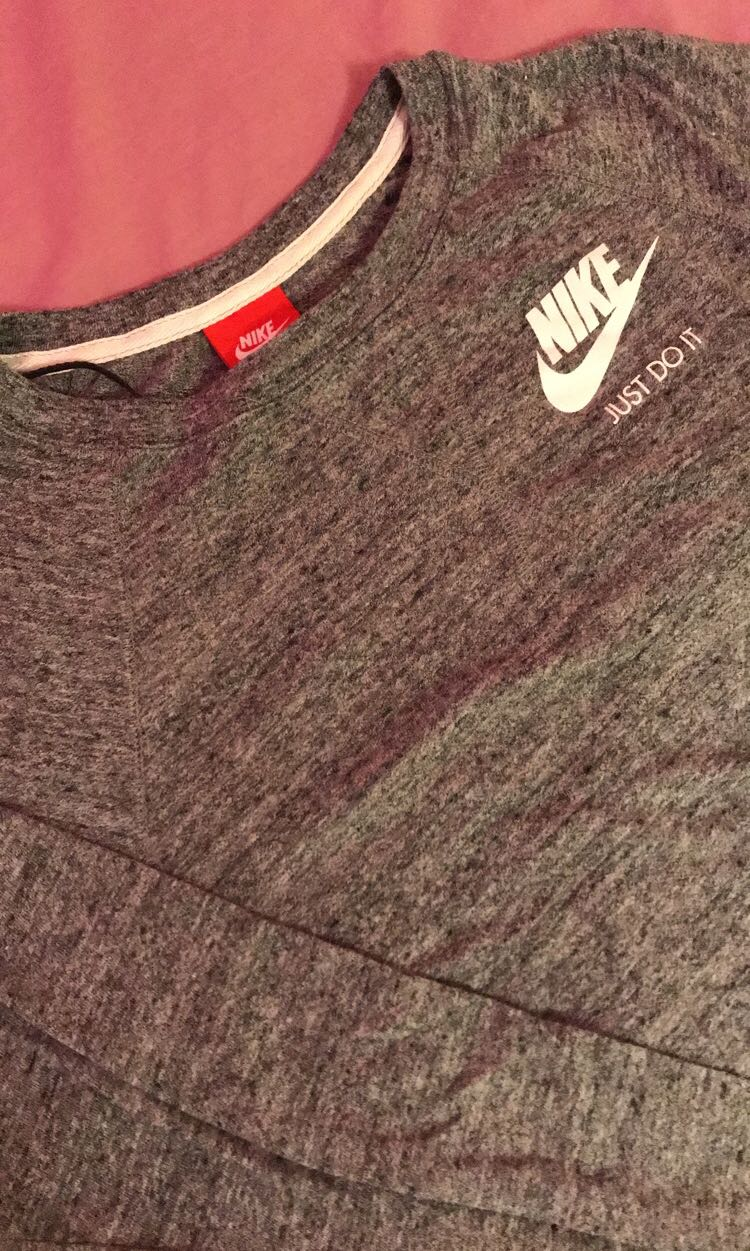 Nike Sportswear Grey Crewneck Sweater