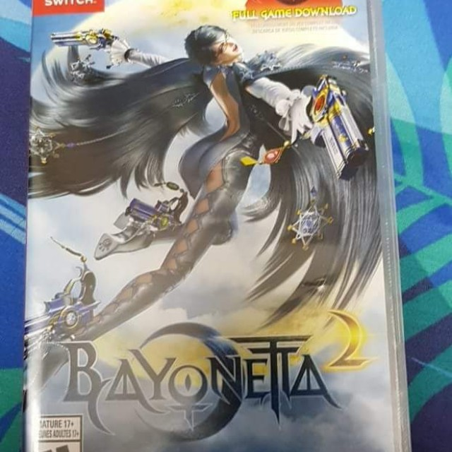 Nintendo Switch - Bayonetta 2 only