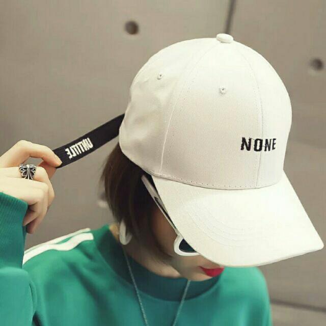 None korean baseball cap bc114e62dcb