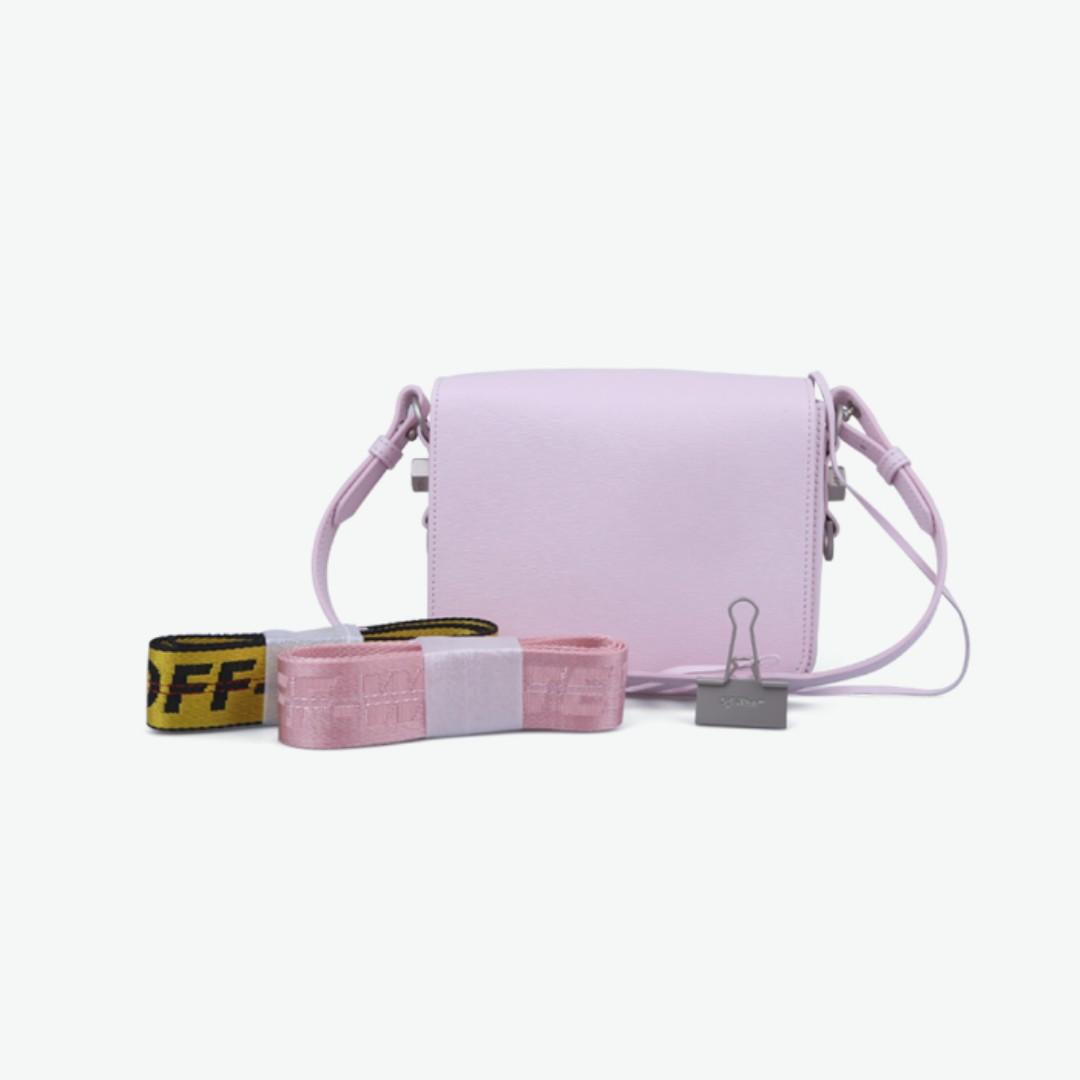 b47661471d5a Off White 18SS Binder Clip Shoulder Bag