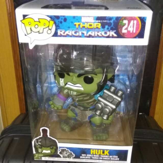 (ON HAND) 10 inches Gladiator Hulk Marvel Funko Pop Bundle