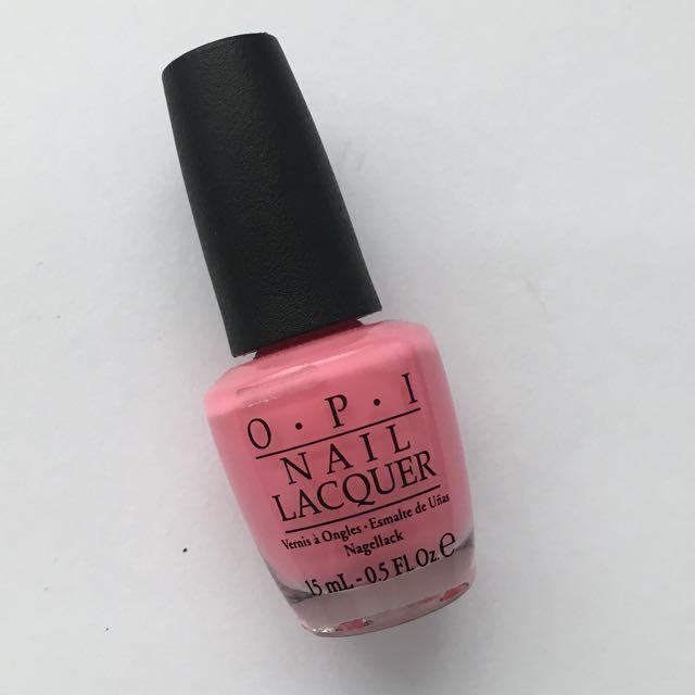 OPI nail polish (kiss me i'm brazilian)