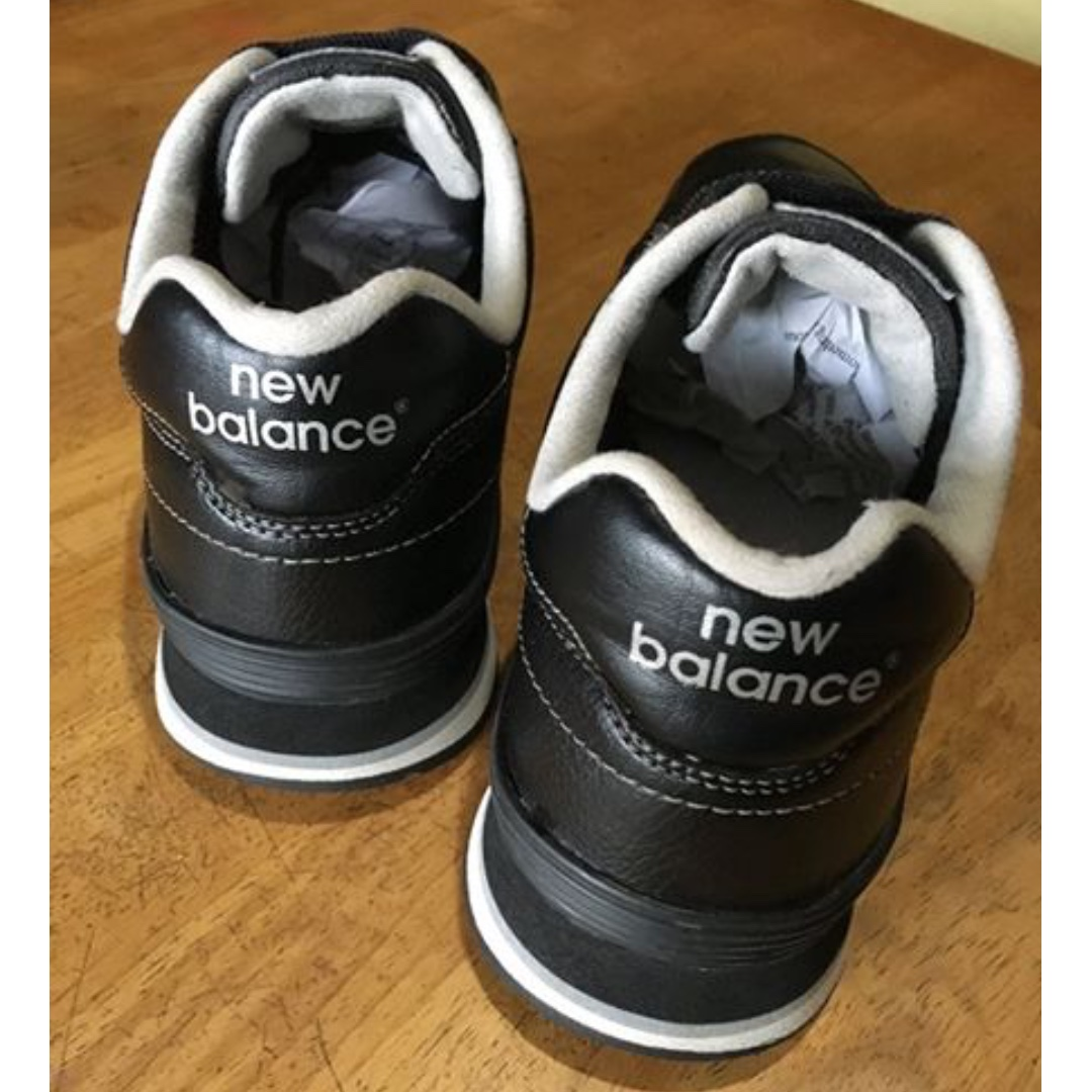 affordable price run shoes united states Original New Balance 364 black leather Size 7.5 US Mens ...