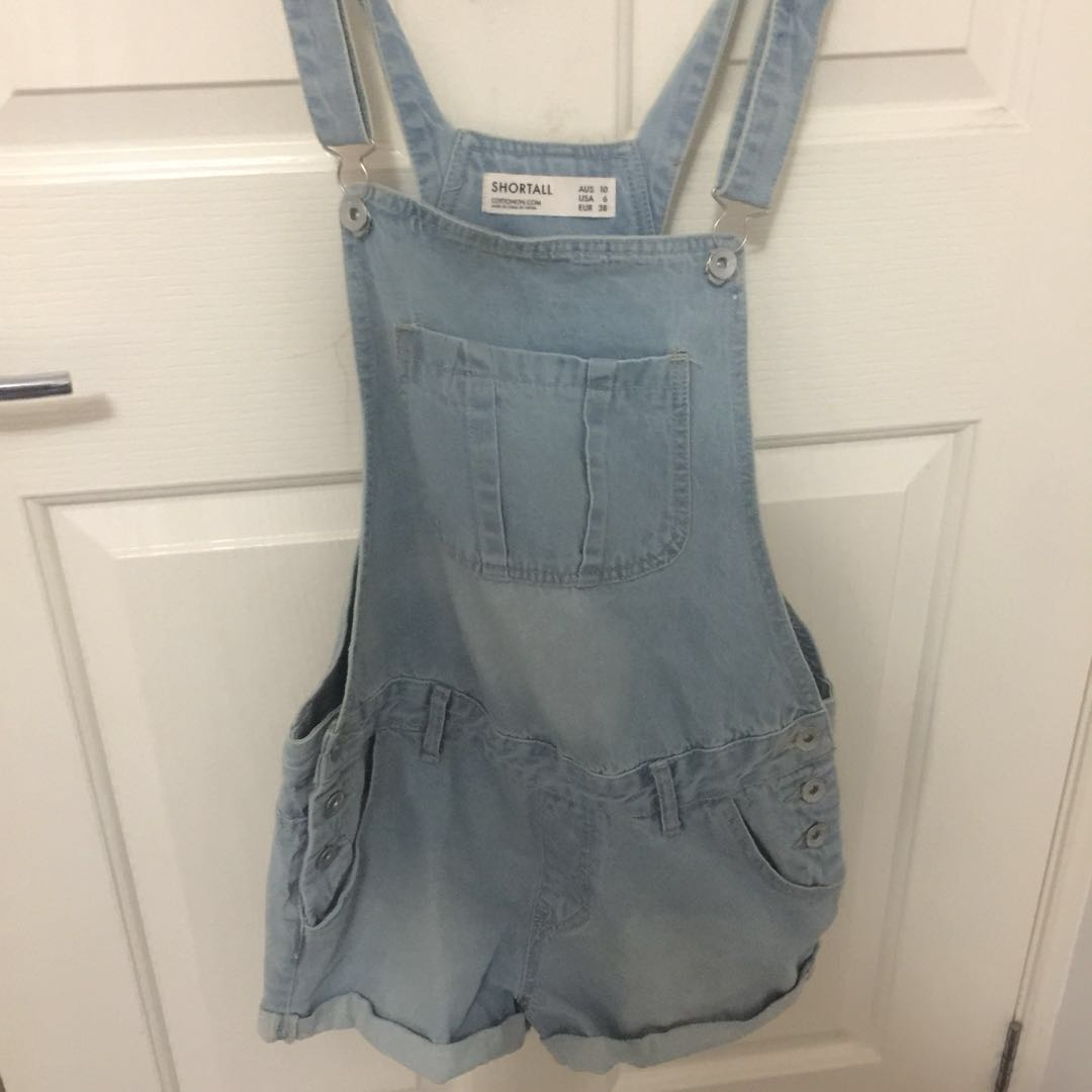 Overalls shorts size 8