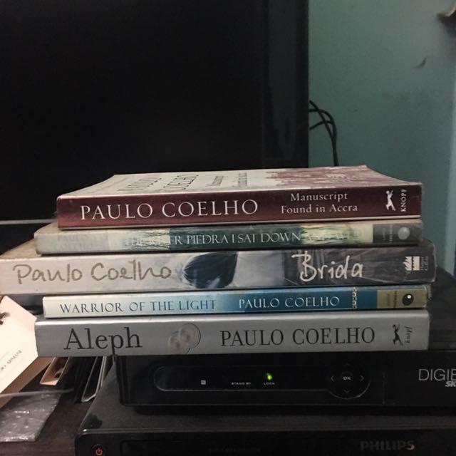 Paulo Coelho Books - Aleph available