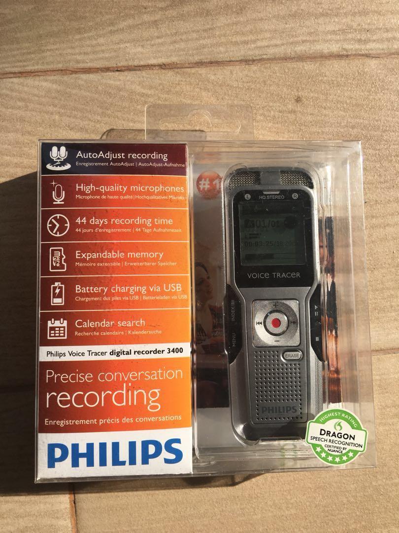 Philips Voice Recorder Electronics Audio On Carousell Speech Photo
