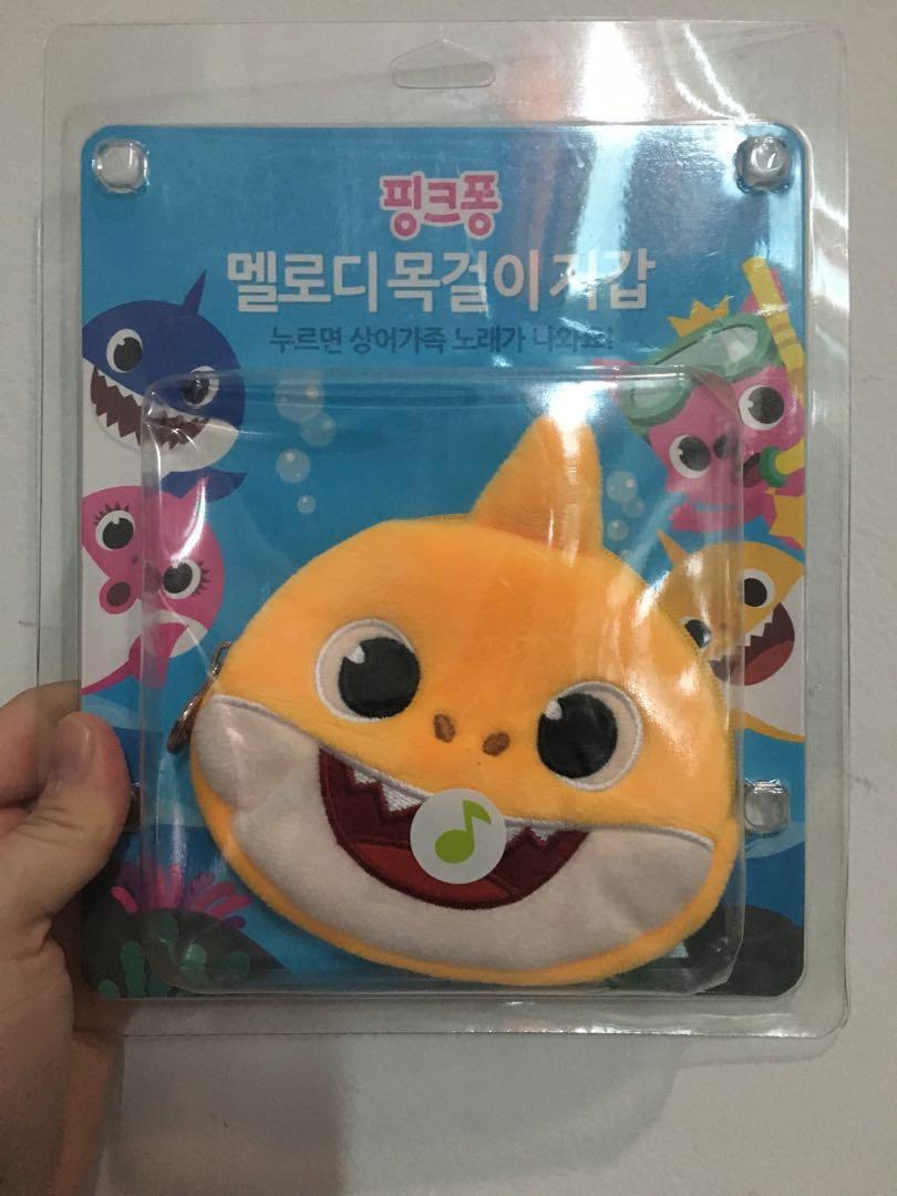 Pink fong melody bag