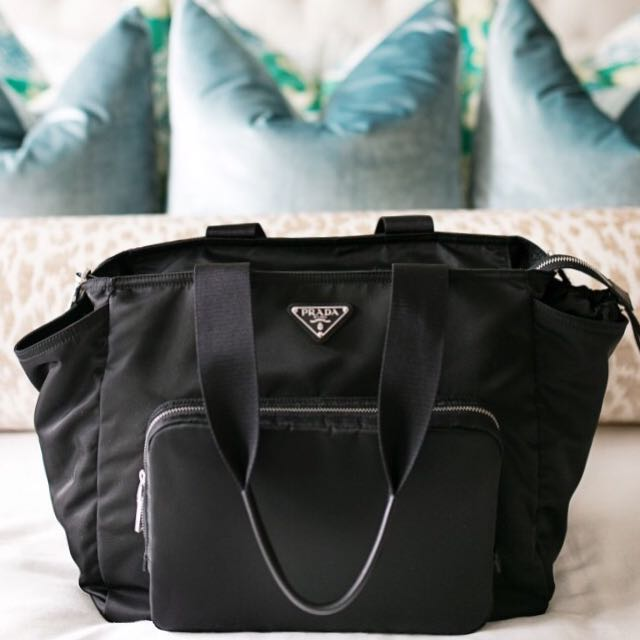 97af9c086098 Prada Vela Nylon Baby Bag (LV Chanel Gucci Ferragamo Bao Bao ...