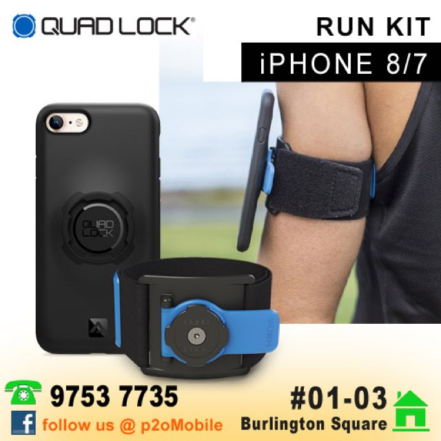 official photos cb2f1 ad85f Quad Lock Run Kit for iPhone 7