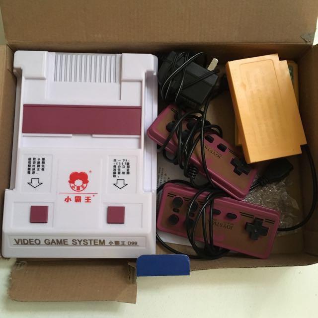 Retro Family Gaming Console