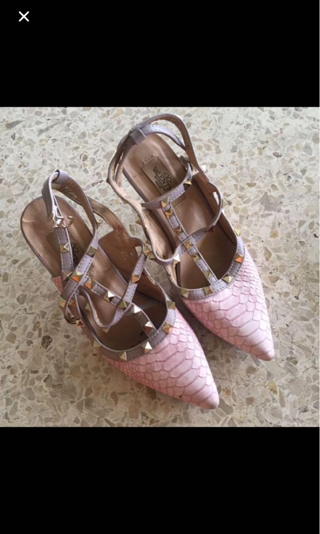 Rockstud heels