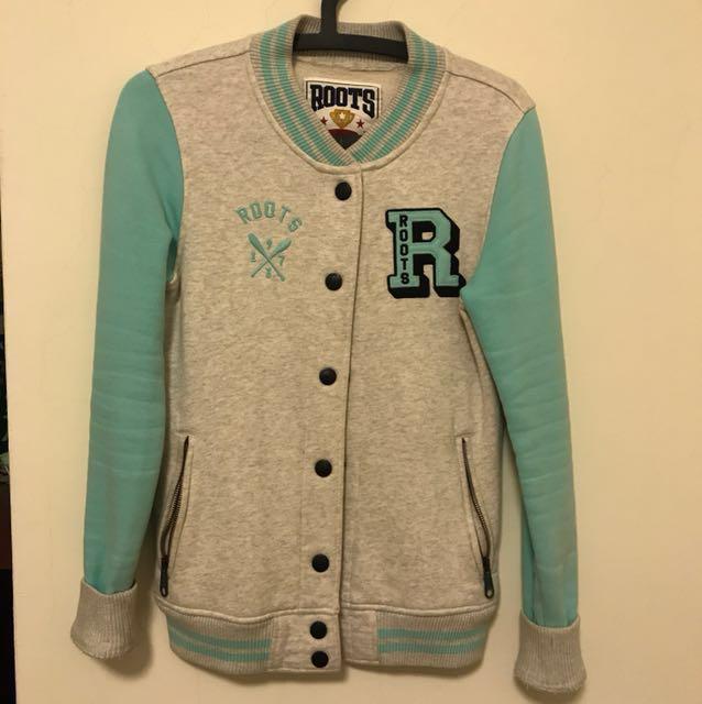 Roots 棒球外套
