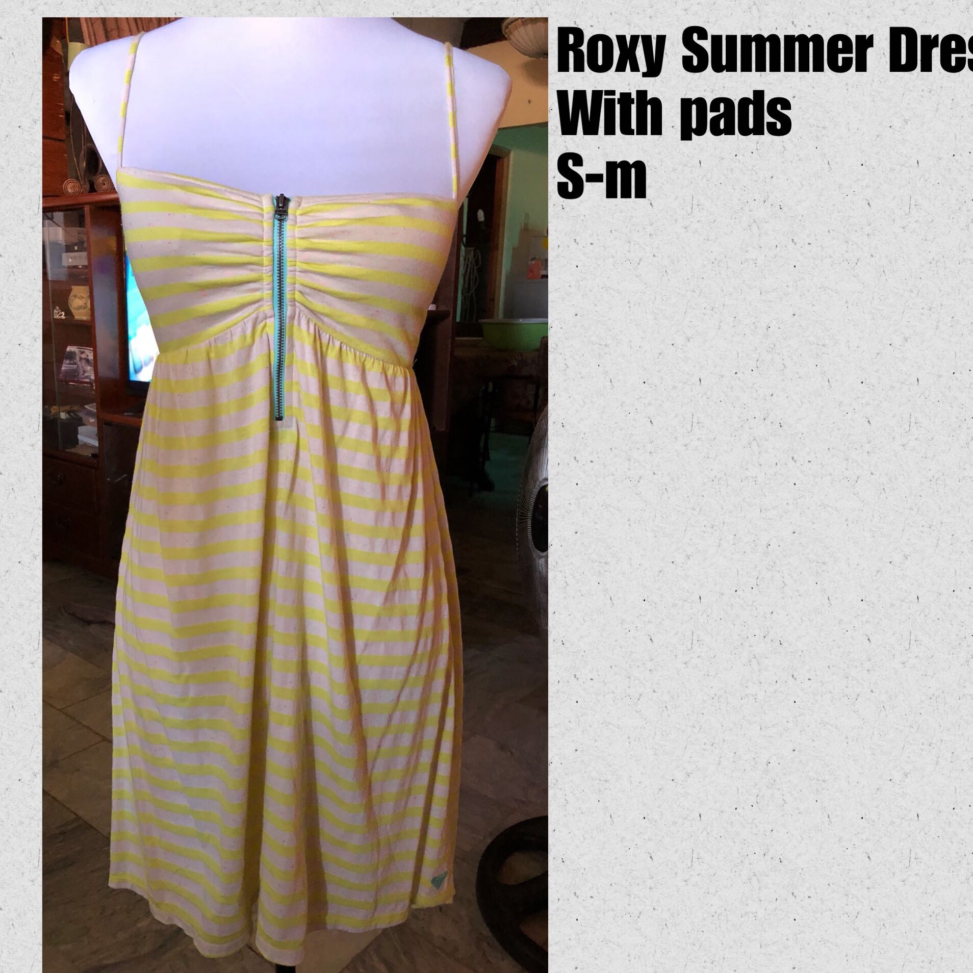 Roxy Summer Dress Padded
