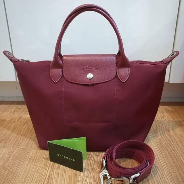 Sale! Authentic Longchamp Bag (maroon)
