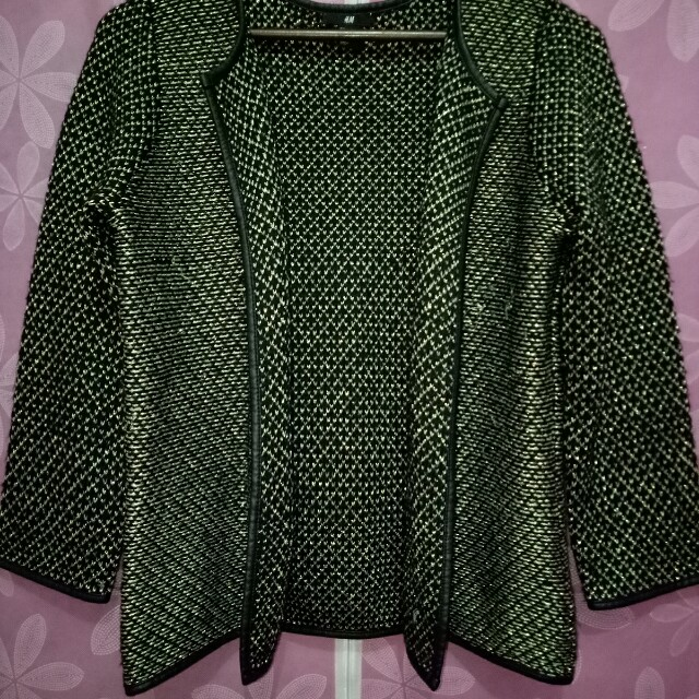 SALE! H&M Black-Gold Outer