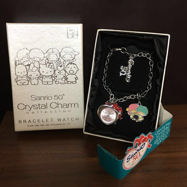Sanrio 50th Crystal Charm Collection BRACELET WATCH 限量手鏈錶(現貨售完為止)