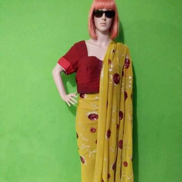 Saree India 6 m