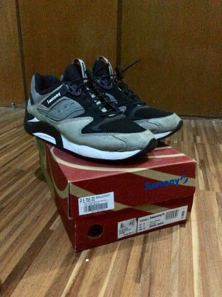 078aa67370a6 ... Womens Grid Marauder 2 Running Shoes (0677338591274) (Gray  size 7  f7399 b336a Saucony Grid 9000 PRM Bungee Pack Gray