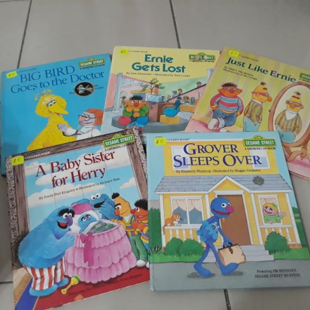 Sesame Street Children's book
