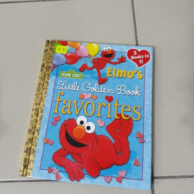 Sesame Street Elmo book