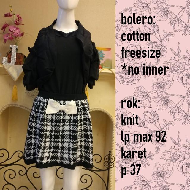 Set bolero dan rok only