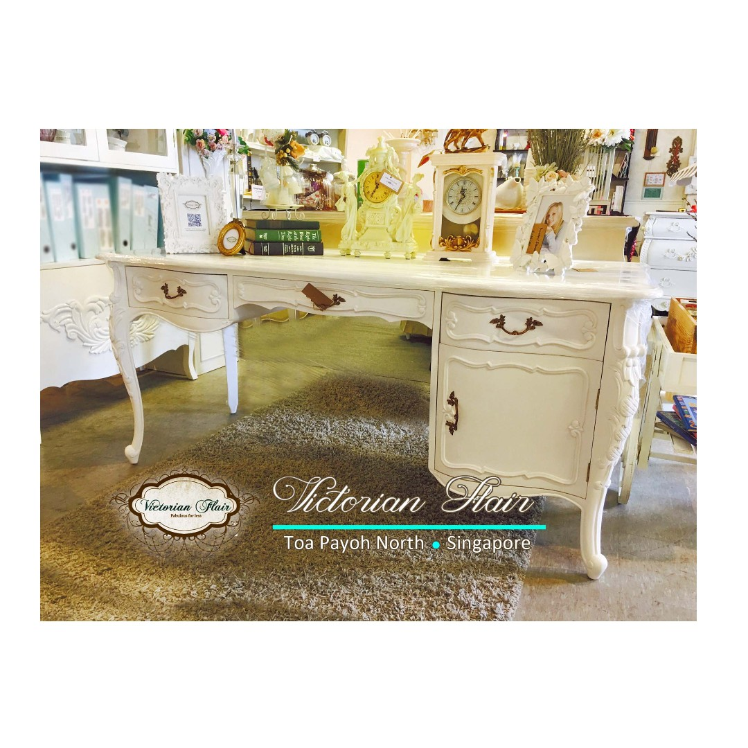 Shabby Chic Writing Table By Victorian Flair Furniture Tables Chairs On Carou